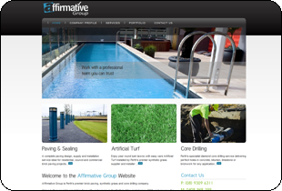 Website Design - Affirmative Group Perth WA