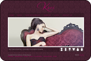 Kovi Collections - eCommerce website development