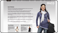 Website Design Aura Woman