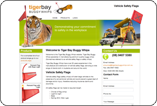 Tiger Bay Buggy Whips & Safety Whips